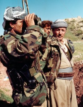 Peshmerga fighters in n. Iraq